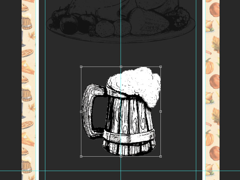 Step 4-Restaurant Menu Card Photoshop Tutorial