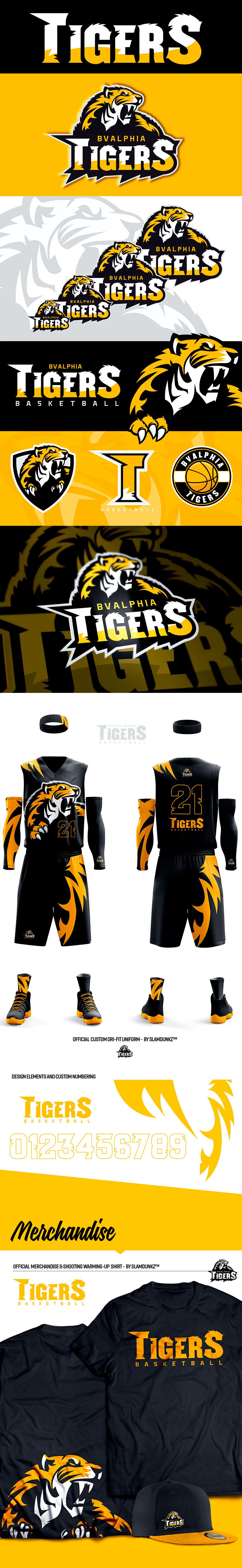 Logotipo del equipo de basketball: Alphia Tigers por Yark Digital Artist