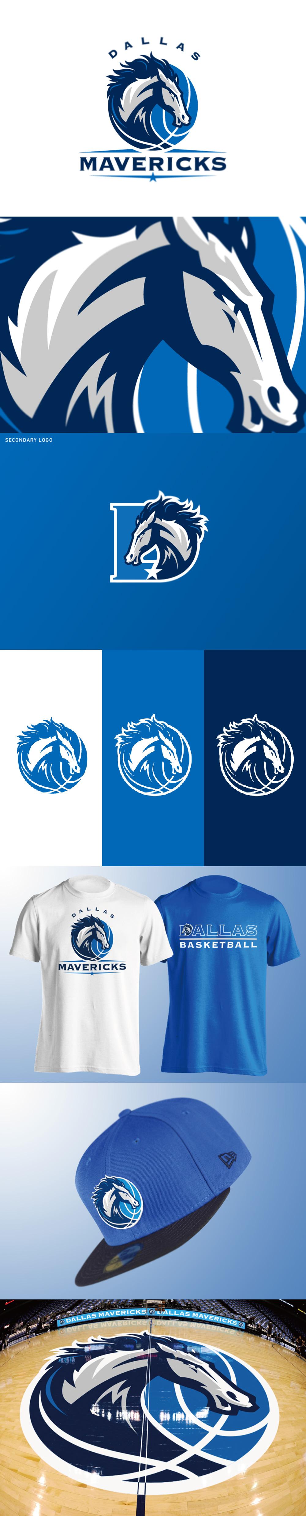 Basketball Team Logo: Dallas Mavericks logo concept by Yu Masuda