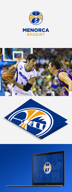 Basketball Team Logo: Menorca Bàsquet by Joan Pons