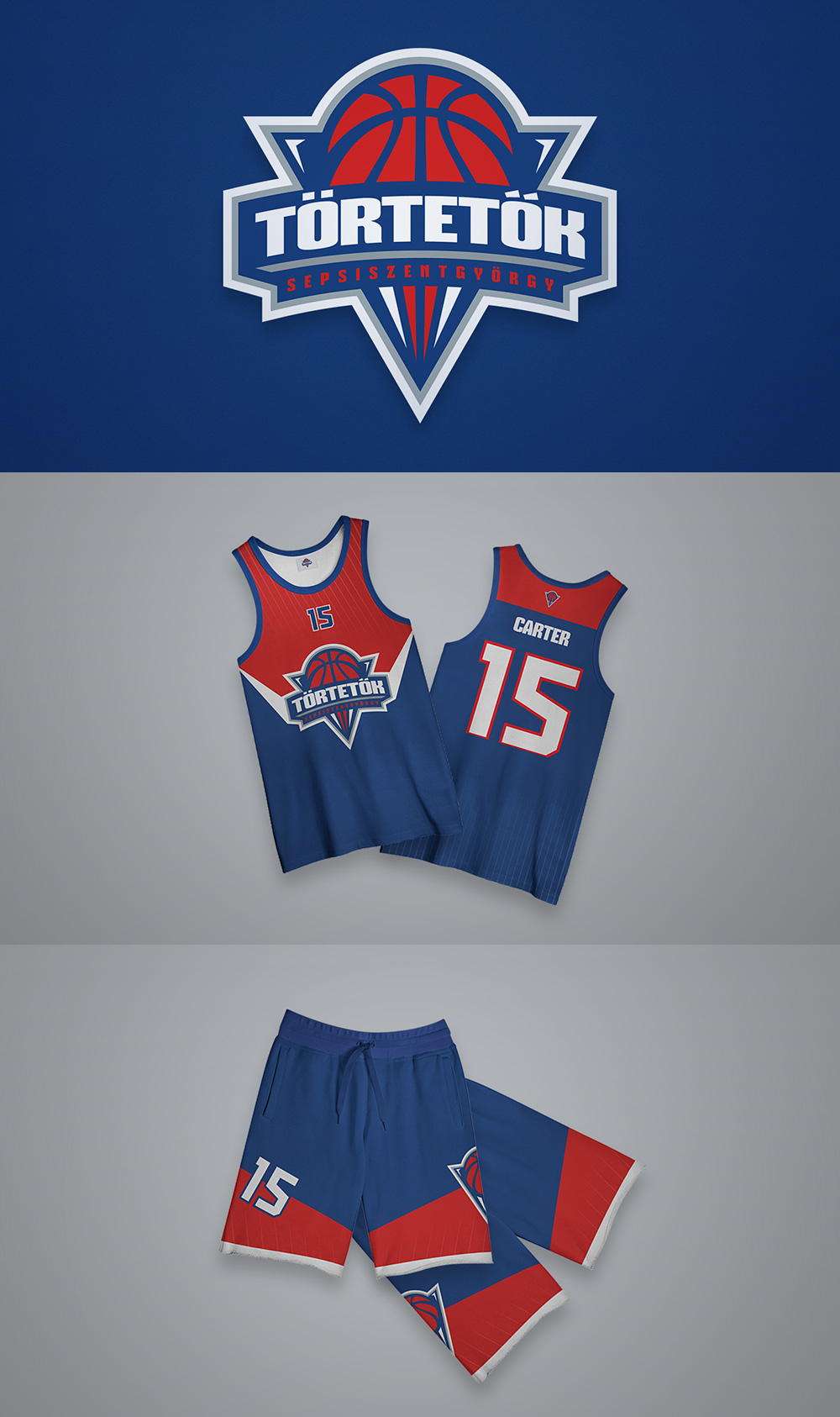 Basketball Team Logo: Tortetok by Hunor Kolozsi