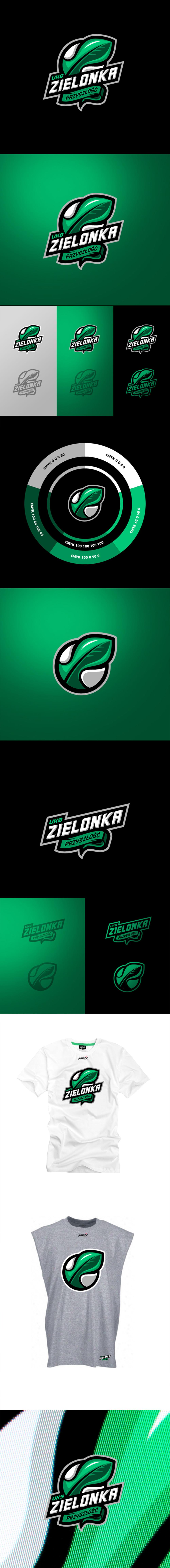 Logotipo del equipo de basketball: UKS Zielonka Przyszlosc de Lunatic