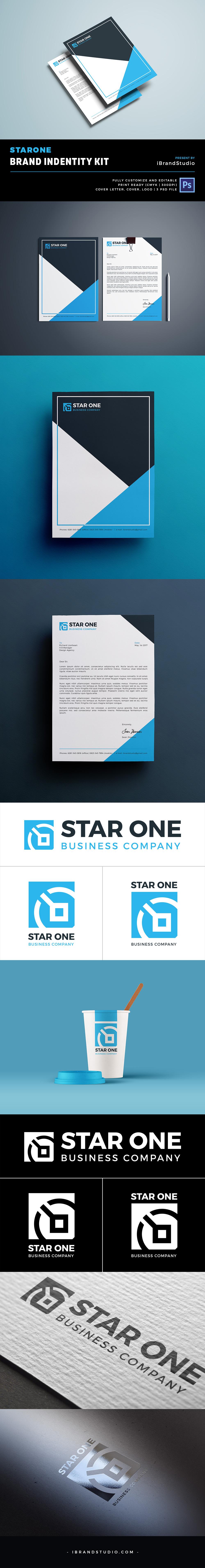 Free StarOne - Brand Identity Template