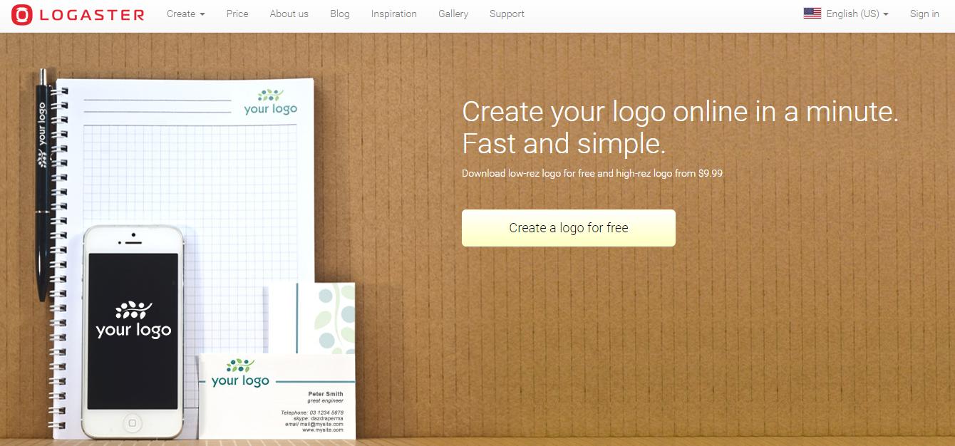 Free Logo Maker by Logaster