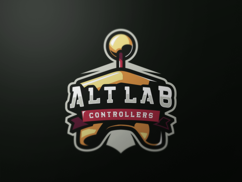 Alt Lab Controllers eSport Team Logo Design