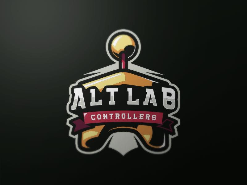 Logotipos de Equipos de eSports y gamers - Alt Lab Controllers eSport Team Diseño de logotipo