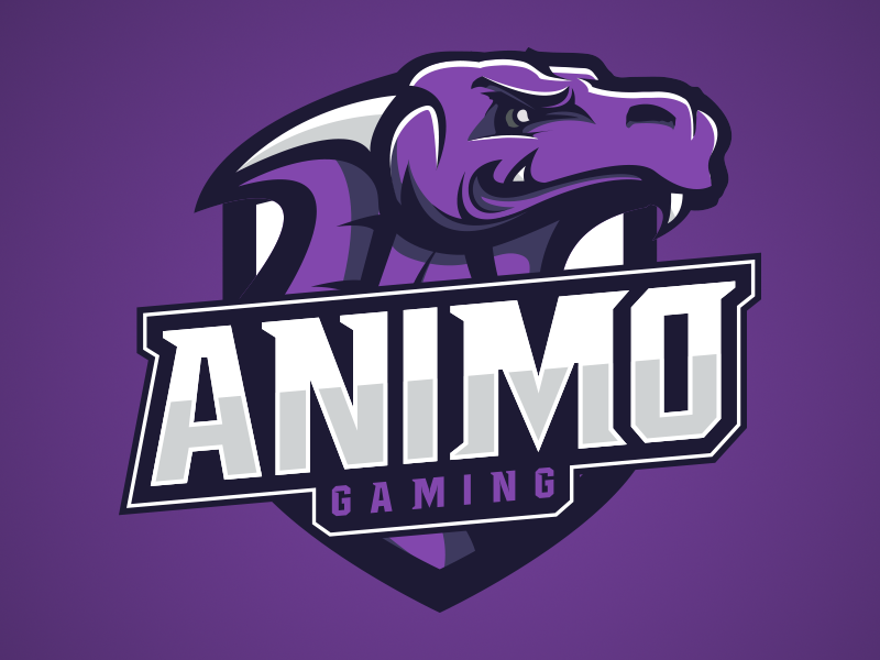 Diseño de logotipo de Animo Gaming