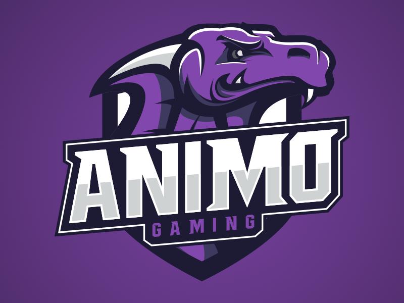 Logotipos de Equipos de eSports y gamers - Diseño de Logo de Animo Gaming