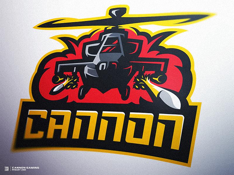 Logotipos de Equipos de eSports y gamers - Logotipo de Apache Helicopter Gaming