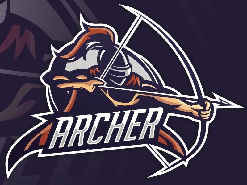 Mascota Archer eSports