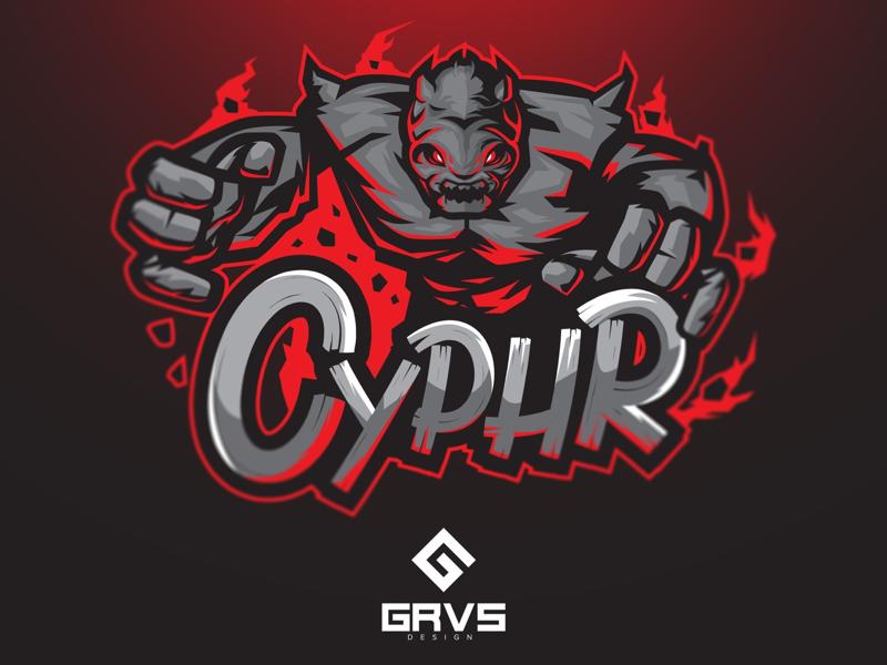 Diseño de logotipo del equipo Cyphr eSport