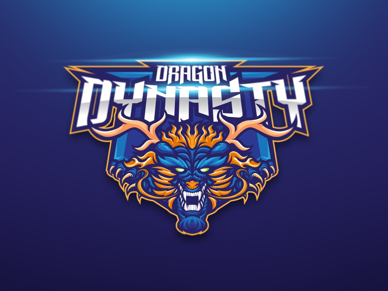 Dragon Dynasty eSport Team Logo Design