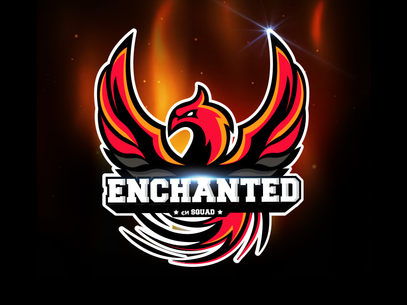 Enchanted eSport Team Logo Design