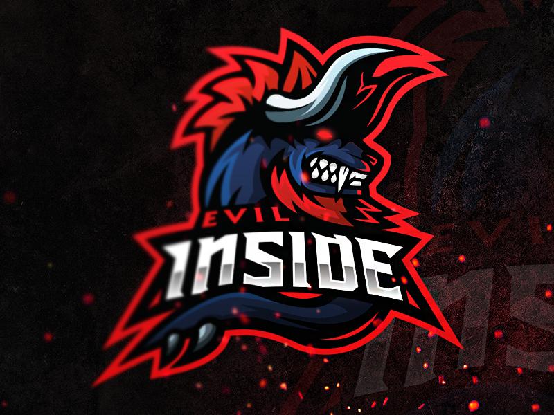 Diseño del logotipo del equipo Evil Inside eSport