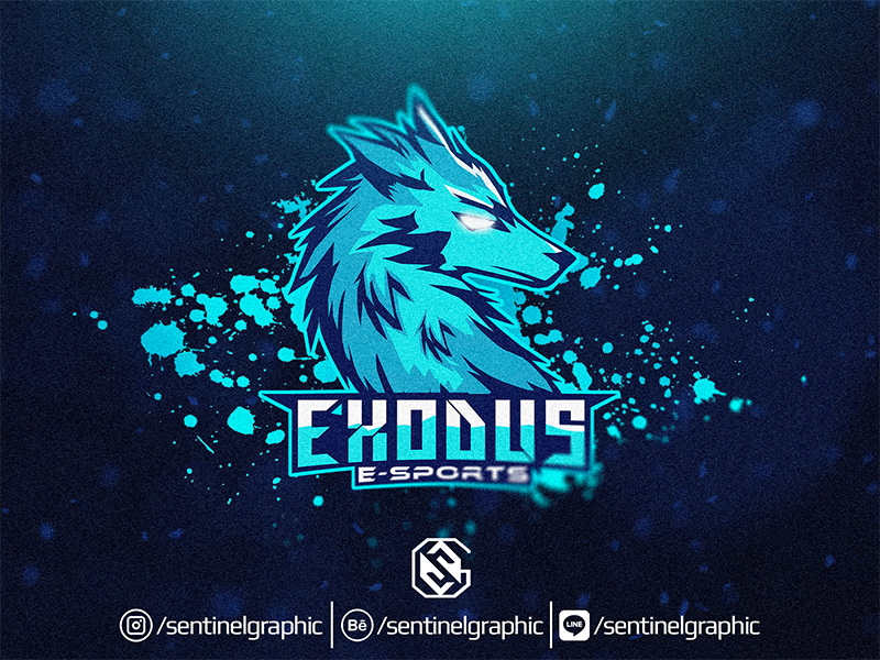 Exodus eSport Team Logo Design