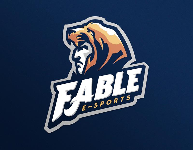 Logotipos de Equipos de eSports y gamers - Diseño de logotipo de Fable eSport Team