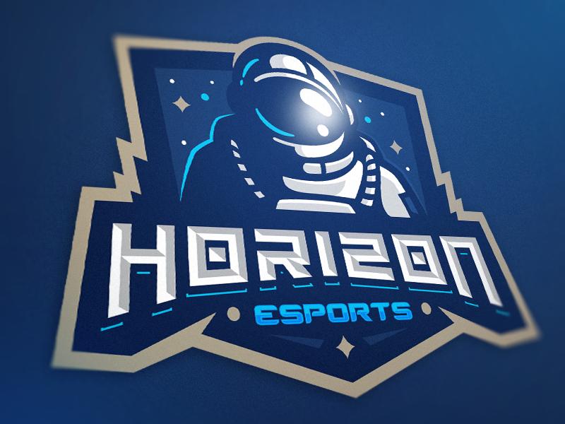 Diseño de logotipo del equipo Horizon eSport