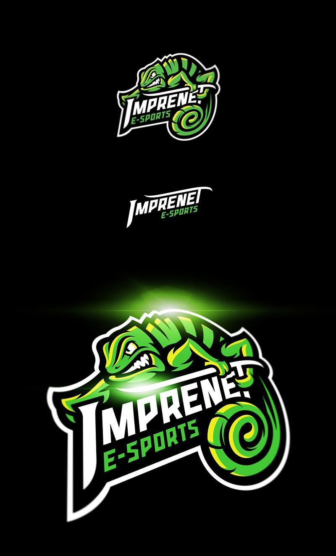 Logotipos de Equipos de eSports y gamers - Diseño de logotipo del equipo Imprenet eSport