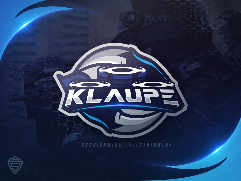 Klaupe - Youtube CS: GO logo