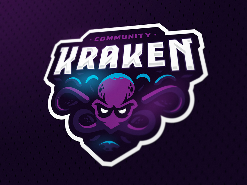 Kraken eSport Team Logo Design