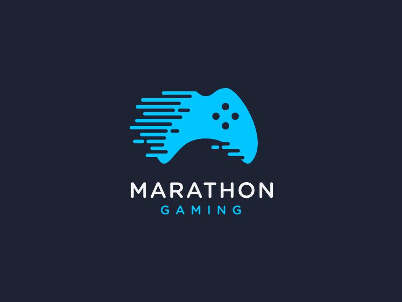 Logotipos de Equipos de eSports y gamers - Diseño de logotipo de Marathon Gaming eSport Team