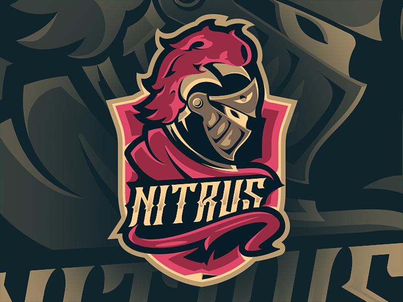 Diseño de logotipo de mascota Nitrus eSport