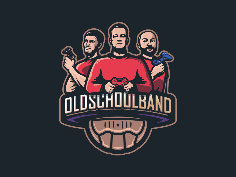 Diseño de logotipo de Old School Band eSport Team
