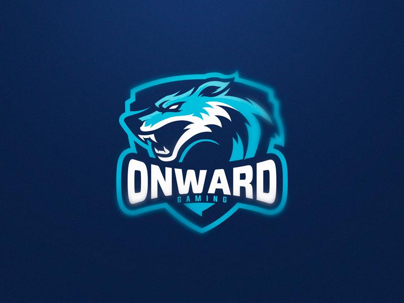 Logotipos de Equipos de eSports y gamers - Diseño de logotipo de Onward Gaming eSport Team