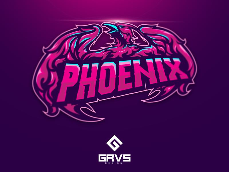 Diseño de logotipo de Phoenix eSport Team