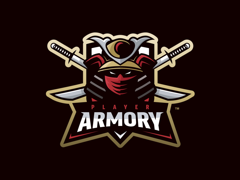 Player Armory - Mascot Logo