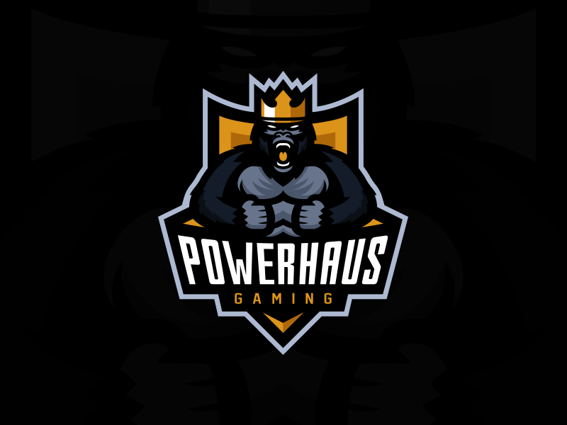 Powerhaus Gaming eSport Team Logo Design