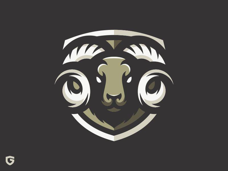 Diseño de logotipo RAM eSport Team