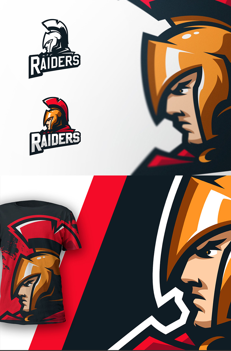 Raiders eSport Team Logo Design