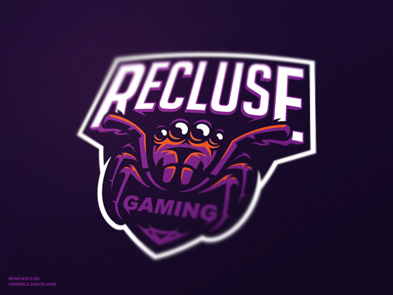 Recluse gaming eSport Team Logo Design