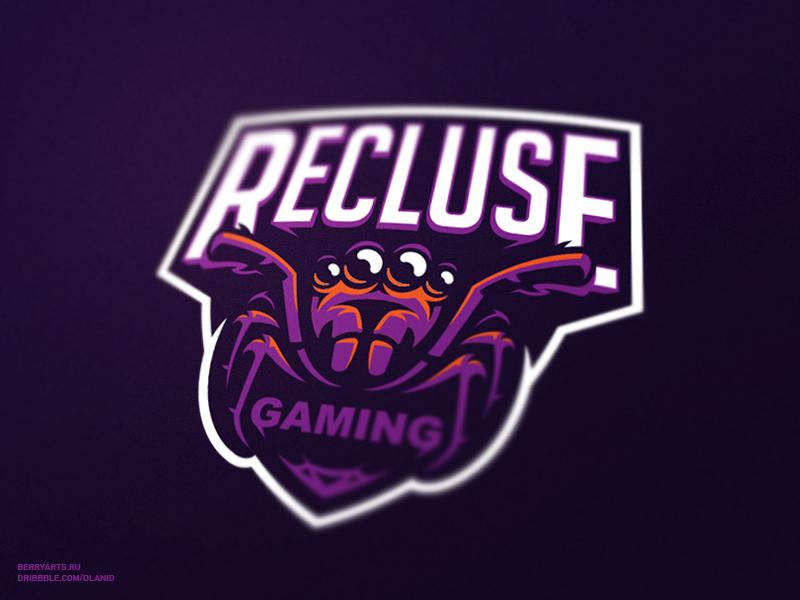 Logotipos de Equipos de eSports y gamers - Recluse Gaming eSport Team Diseño de logotipo