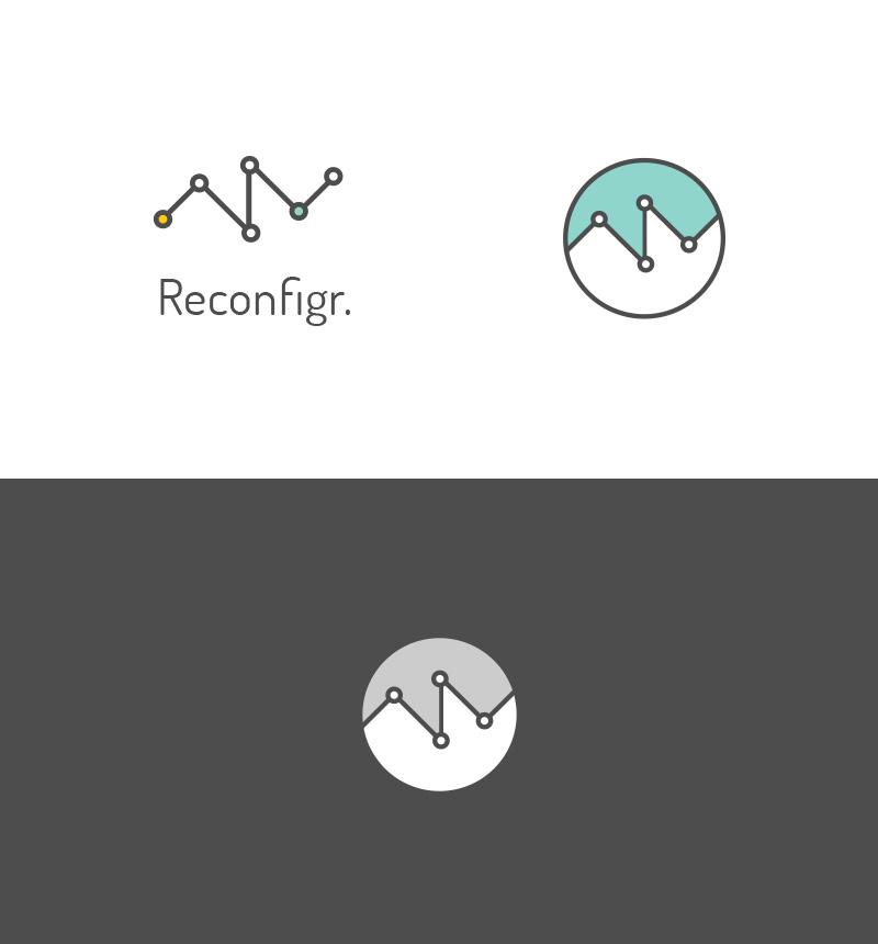 Reconfigr Technology Internet Logo by Stephen Duffy