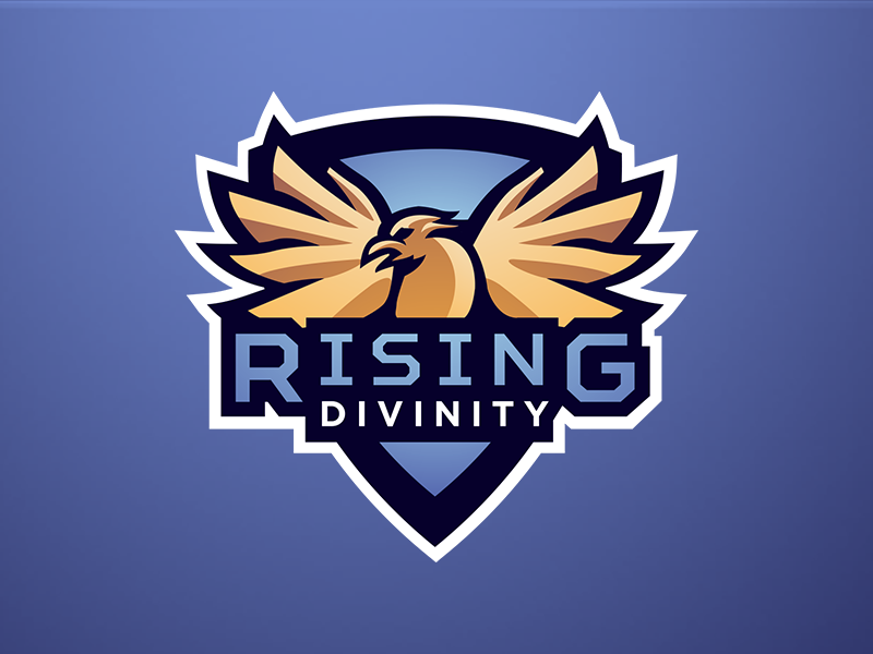Rising Divinity eSport Team Logo Design