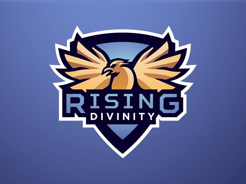 Diseño de logotipo de Rising Divinity eSport Team
