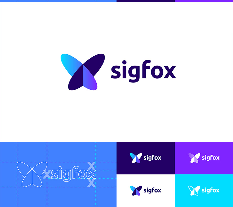 SIGFOX Technology Internet Logo