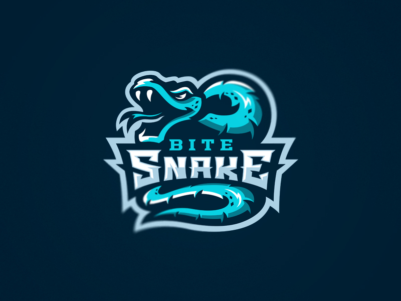 Snake eSport Team Logo Design