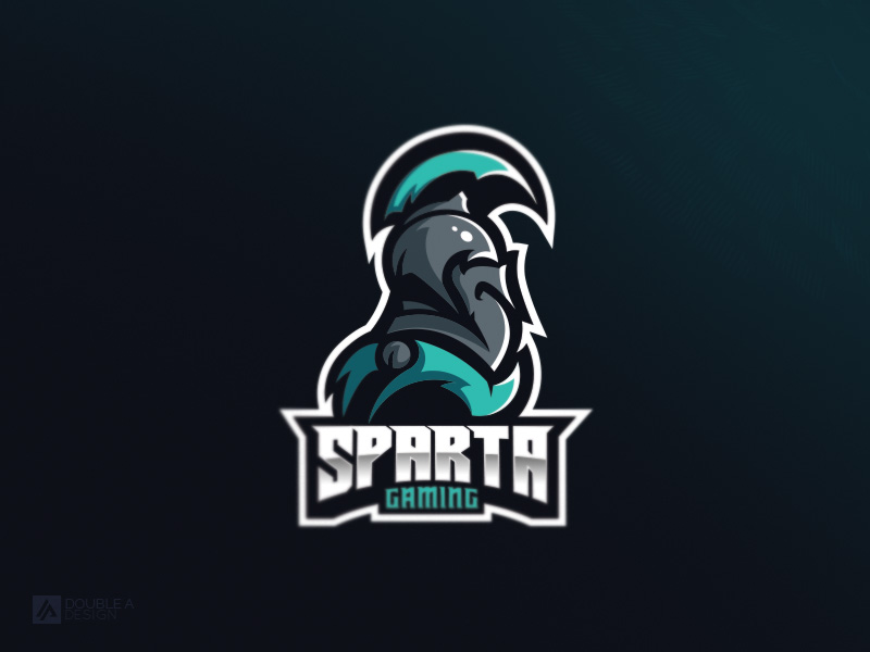Sparta Gaming eSport Team Logo Design