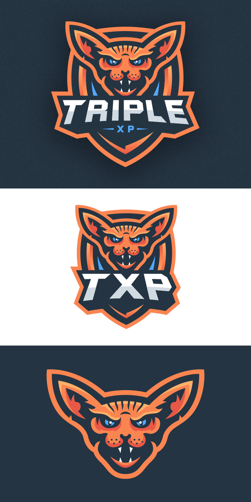 Sphinx Cat eSport Team Logo Design
