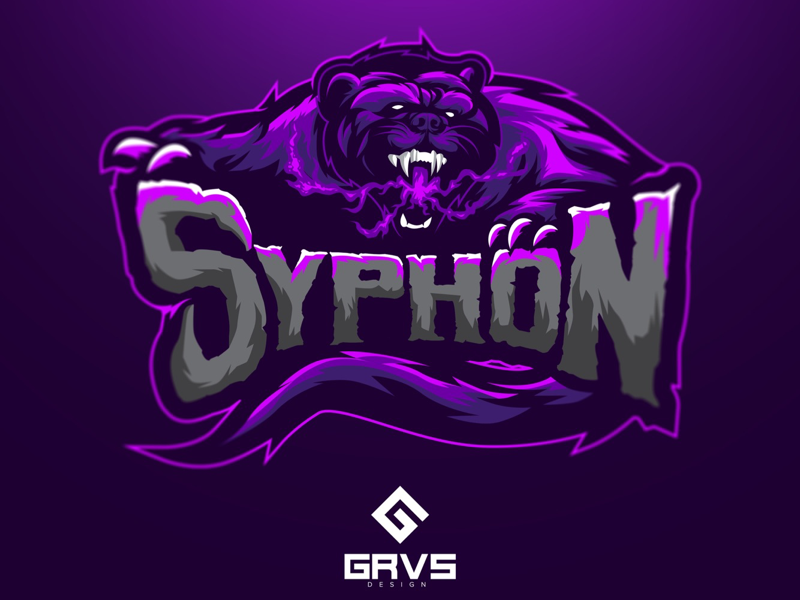 Siphon eSport Team Logo Design