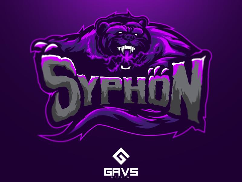 Diseño de logotipo de Siphon eSport Team