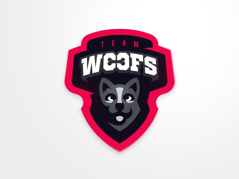 Team Woofs eSport Team Logo Design