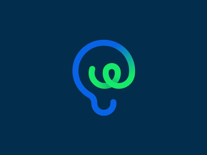 Tencent WENZHI Technology Internet Logo by eggplant