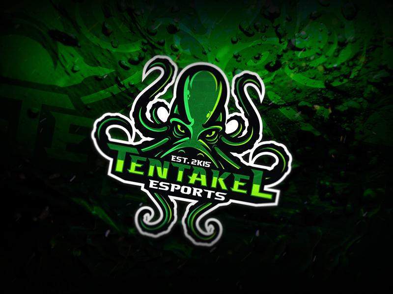 Diseño de logotipo del equipo Tentakel eSport
