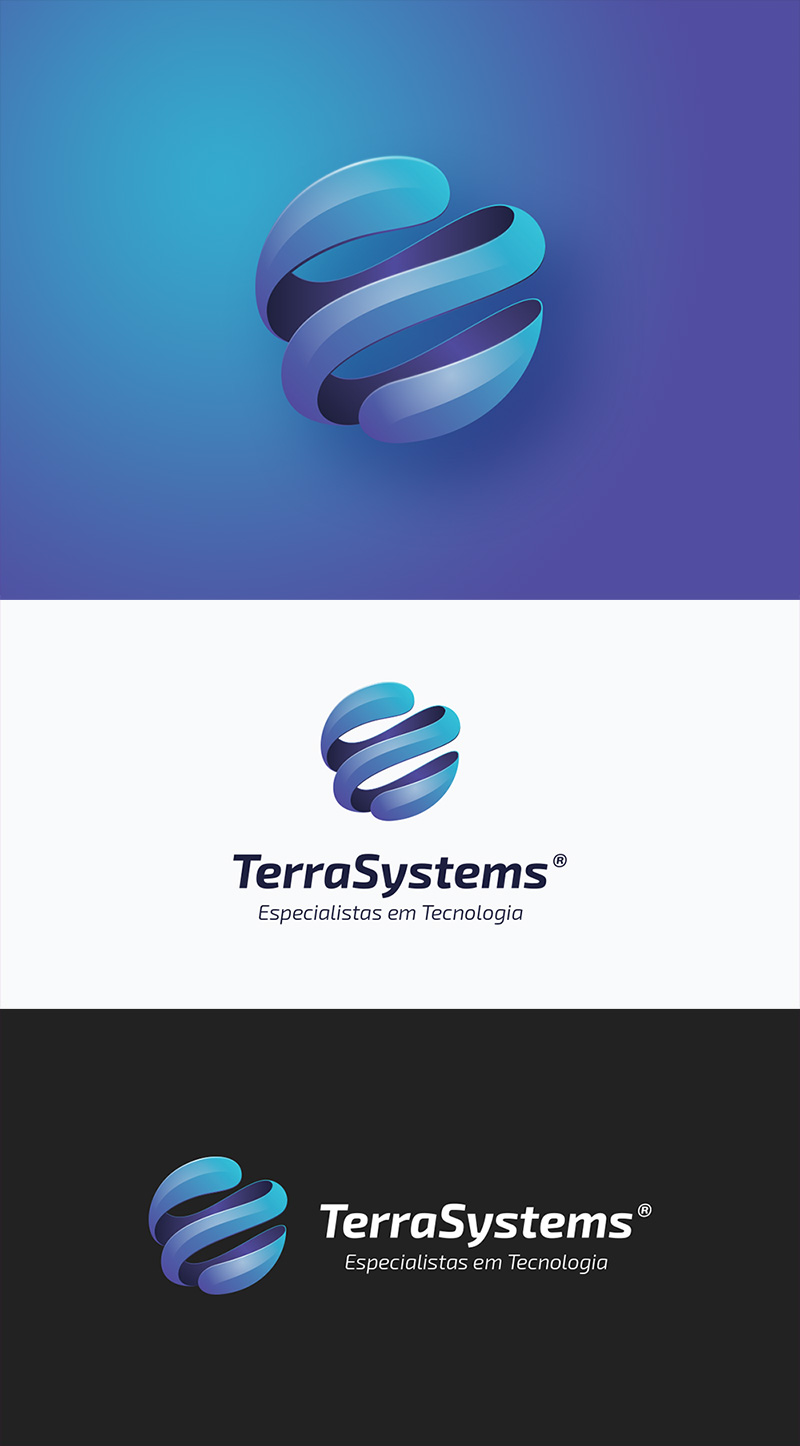 TerraSystems Technology Internet Logo by Nuno Dias