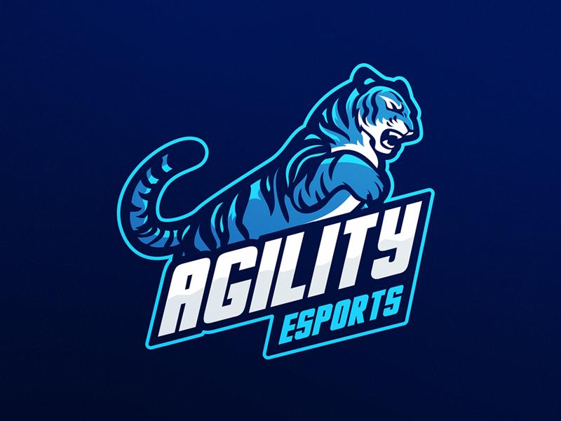 Diseño de Logo de Tiger eSports
