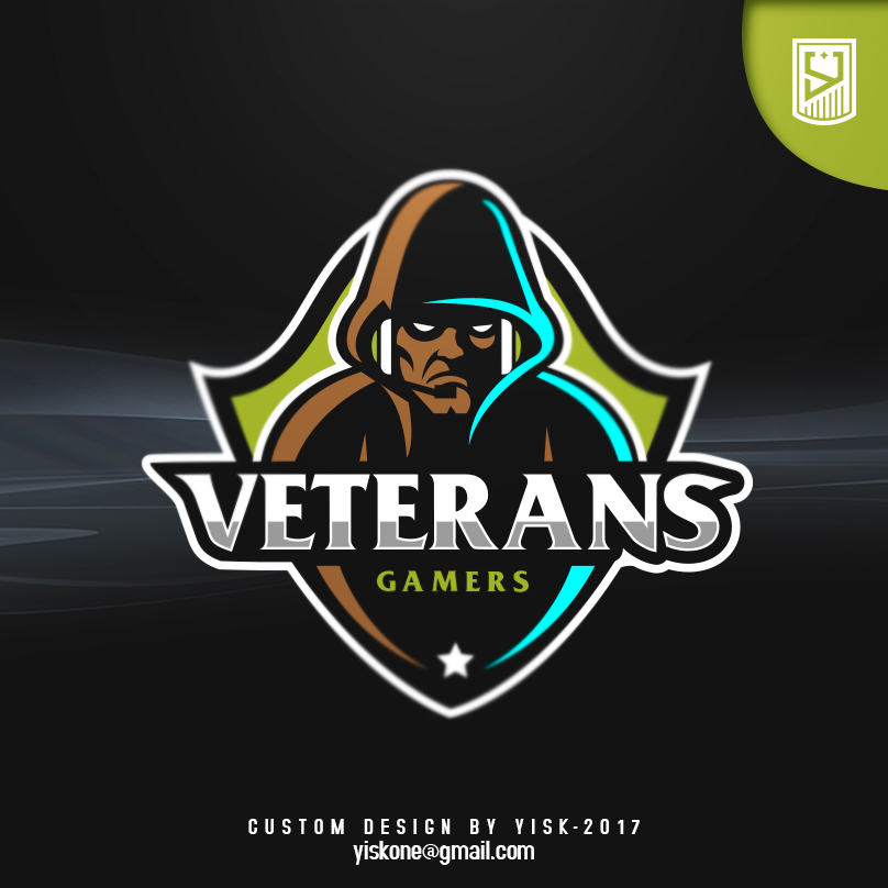 Diseño del logotipo del equipo de eSport de Veterans Gamers